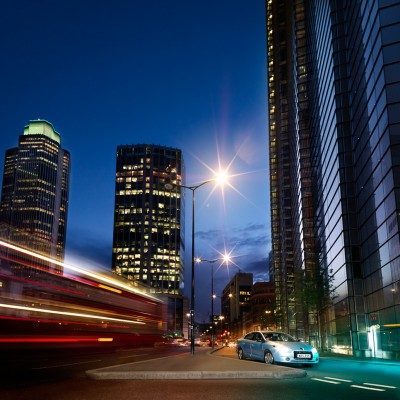 Qualcomm Electric City brand advertising campaign Photography London