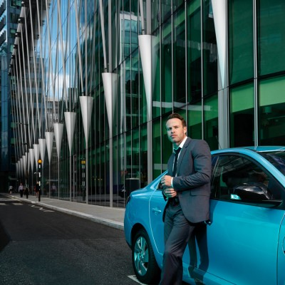Qualcomm Automotive global brand advertising campaign photography London