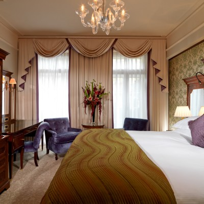 The Goring hotel interior Luxury bedroom