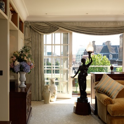 The Goring Royal Suite sitting room Luxury interior photography London
