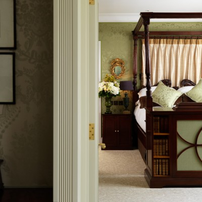 The Goring Royal Suite Bedroom luxury interior photography London