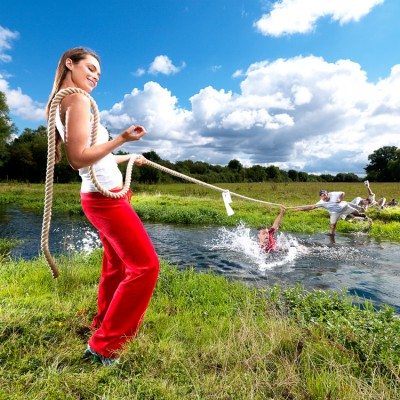 Tug Of War Pharmaceutical Campaign Photography