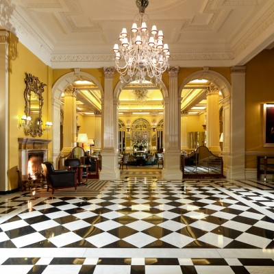 Claridges Hotel Lobby Interior Photography London