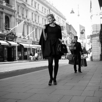 Bond Street Fashion Advertising Photography London