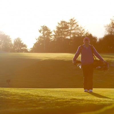 Golf sunrise fairway Sports Photography London
