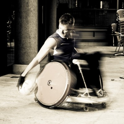 Wheelchair Rugby Murderball Steve Brown Paralympic Sports Photography London