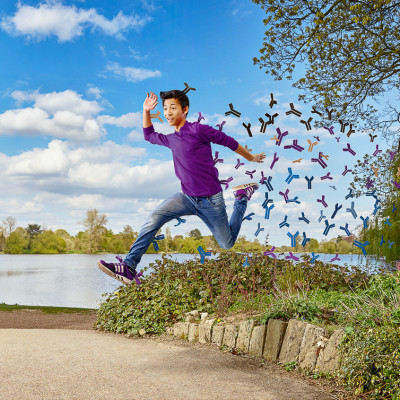 Jump Asthma awareness Pharmaceutical campaign brand advertising photography
