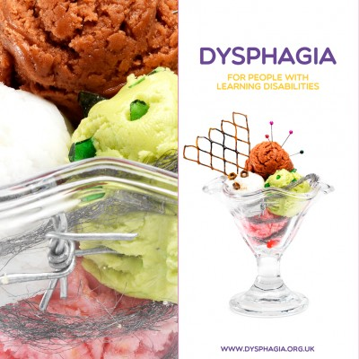 Ice cream Dysphagia awareness pharmaceutical campaign still life food photography