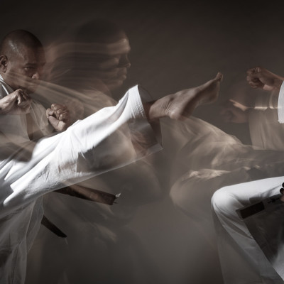 Martial Arts Shotokan Karate movement Sports advertising photography London