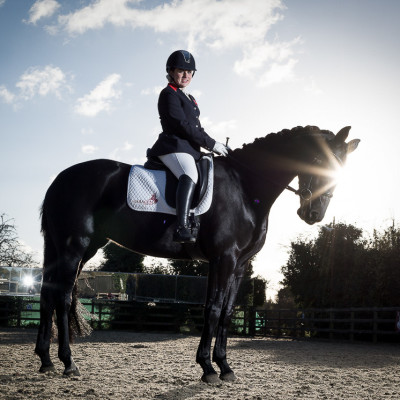 Natasha Baker Paralympic Champion Dressage Equestrian Sports photography London