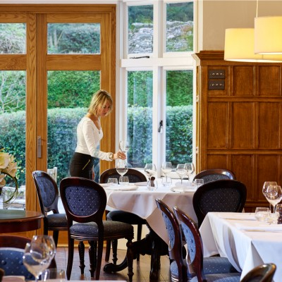 Hurtwood Inn Restaurant Dining Interior Photography London