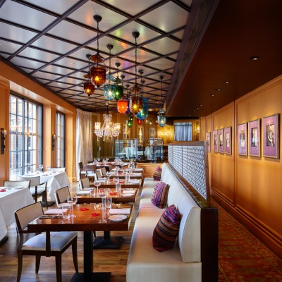 Veeraswamy Indian Restaurant interior photography London