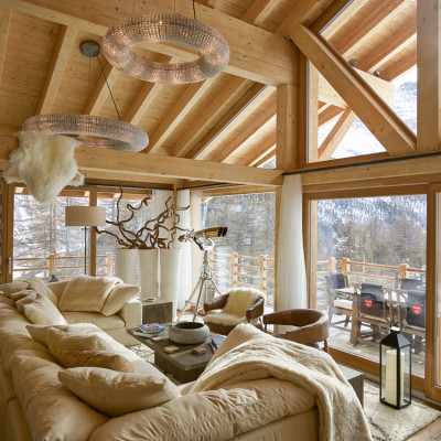 Saas Fee Alpine Chalet Private Residence 4