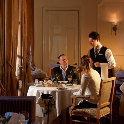 Taplow House Hotel dining experience Interior Photography London