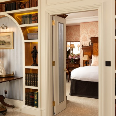 The Goring Hotel bedroom luxury interior photography London