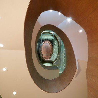 Coworth Park stairwell interior Photography UK