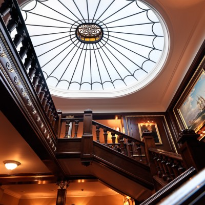 The Connaught Stairwell Skylight Architectural Photography London