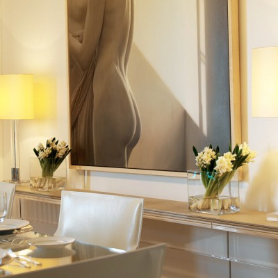 Luxury apartment Interior for Fox Linton by Martin Hulbert, Worldwide