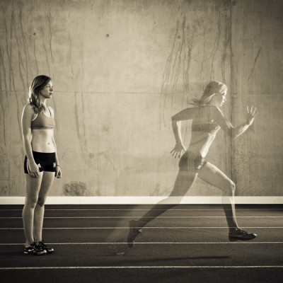 Ghost Runner Movement Running Sports Photography