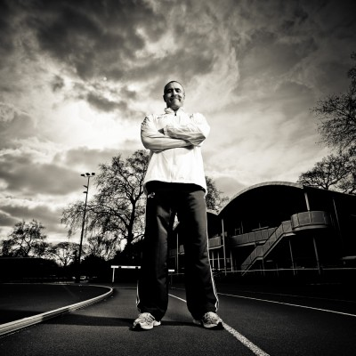 Daley Thompson Sports Portrait Photography