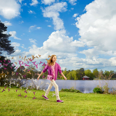 Walking Child Asthma awareness Pharmaceutical campaign brand advertising photography