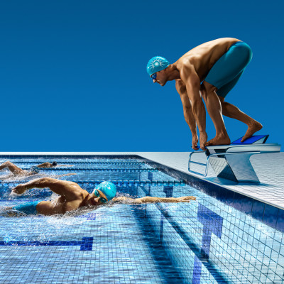 Diver changeover Photography CGI Pharmaceutical advertising campaign