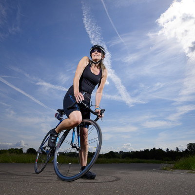 Gina Cycling Sport Editorial Photography London