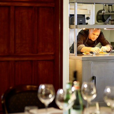 Hurtwood Inn Restaurant Kitchen Food Photography London